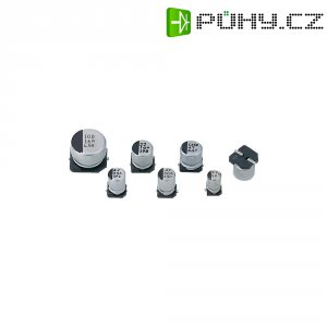 SMD kondenzátor elektrolytický, 1 µF, 50 V, 20 %, 6 x 4 mm