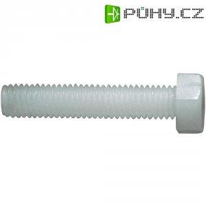 Šestihranné šrouby DIN 933 Toolcraft 830253, plast, M4x30 mm, 10 ks
