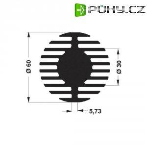 LED chladič Fischer Elektronik SK 578 25 SA, 60 mm x 25 mm, 2,1 kW