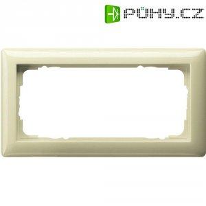 Rámeček kombinovaný bez oddělovače Gira, standard 55, krémově bílá (100201)