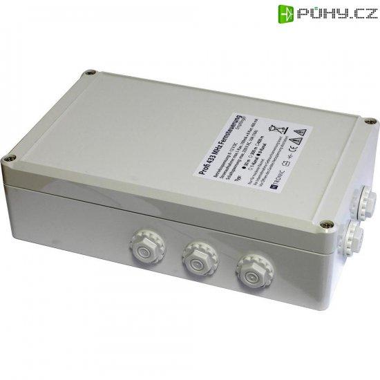 Bezdrátový přijímač H-Tronic, 618102, 8kanálový, 300 m, 433 MHz, 2000 W - Kliknutím na obrázek zavřete