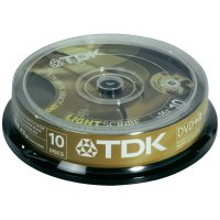 TDK DVD+R 4,7GB 16X 10 ks SP LIGHTS
