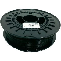Náplň pro 3D tiskárnu, German RepRap 100256, PLA, 1,75 mm, 750 g, černá