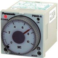 Multifunkční časové relé Panasonic PM4HMHDC12SJ, 5 A 250 V/AC , 10 VA