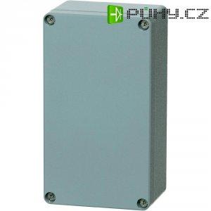 Hliníkové pouzdro Fibox ALN 081806, (š x v x h) 177 x 81 x 56,5 mm, stříbrná (AL 081806)