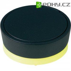 Ovládácí knoflík OKW D8741019, 6 mm, podsvícení RGB, černá