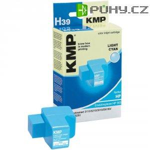 Toner inject KMP H39 = HP C8774EE (363) světlá cyanová