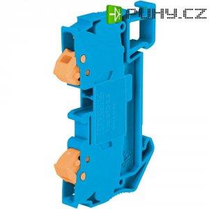 Průchozí svorka Phoenix Contact QTC 2,5 BU (3206429), rychlé připojení, 6,2 mm, modrá