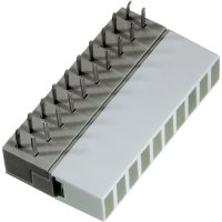 LED řádek 10nás. Signal Construct, ZAEW1032, 5 mm, zelená
