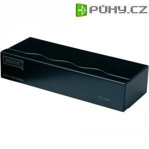 VGA rozbočovač Digitus Professional DC-43100, N/A, 8 portů, černá