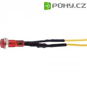 Neonová signálka s integrovaným předřadným odporem Sedeco BN-0551, červená