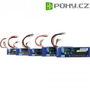 Akupack Li-Pol (modelářství) Conrad energy, 7.4 V, 800 mAh, 40 C, otevřené kabelové koncovky