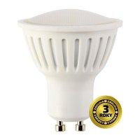 Žárovka LED SPOT GU10 3W bílá přírodní SOLIGHT