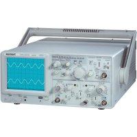 Analogový osciloskop s generátorem Voltcraft 632 FG, 2kanálový, 30 MHz
