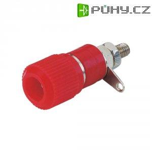 Bezpečnostní konektor, (Ø x d) 12,5 mm x 35 mm, 10 ks, červená/černá