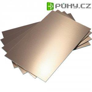 Epoxidová DPS Bungard 020306E30, 100 x 75 x 1,5 mm, jednostranná, epoxyd/měď 35 µm