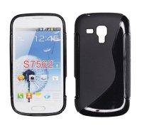 ForCell Zadní Kryt Lux S Black pro Samsung S7560/S7562 Trend