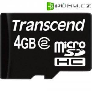 Paměťová karta microSDHC Transcend 4GB Class 2