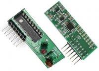 Modul dálkového ovládání ZR06A - přijímač 433MHz s pevným kódem