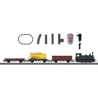 Startovací sada H0 nákladního vlaku a parní lokomotivy 608 Märklin World 29171