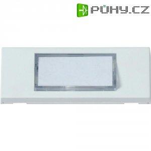 Zvonková deska Heidemann 70050 , 1 tlačítko, podsvítitelná, max. 24 V/1 A, bílá