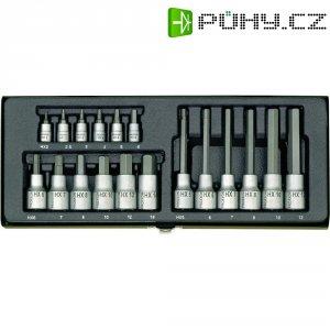 18dílná sada nástrčných klíčů a bitů vnitřní šestihran Proxxon Industrial 23 100