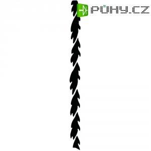 Sada listů lupínkové pily, 12 ks, 130 mm