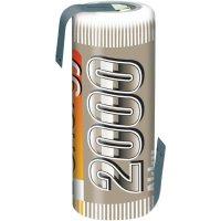 Akumulátor NiMH Conrad Energy 4/5 A, 2000 mAh, s pájecími kontakty