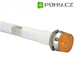 LED signálka Arcolectric C0277OSMAB, montáž do panelu, 230 V/AC, červená