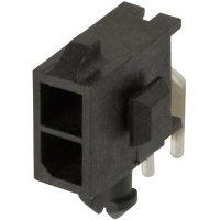 Konektor TE Connectivity Micro-Mate-N-Lok (3-794618-2), kolíková lišta úhlová, 250 V, 3 mm