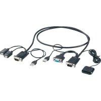 Přepínač KVM se 2 porty, USB kabel