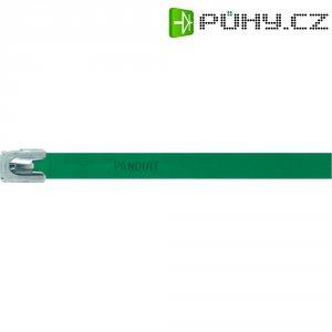 Hliníkový stahovací pásek 140 x 7,9 mm, zelený, Panduit -MLT1H-LPALGR 222 N