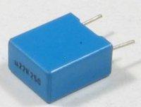 220n/63V TC350, svitkový kondenzátor radiální, RM=7,5mm