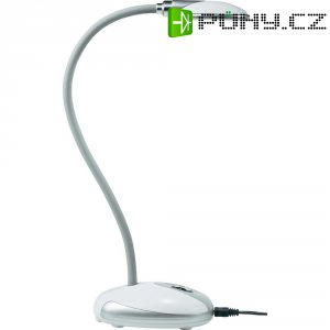 Stolní LED lampa, 3,7 W, bílá, studená bílá