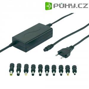 Síťový adaptér pro notebooky Voltcraft NPS-90A USB, 15 - 19 VDC, 90 W