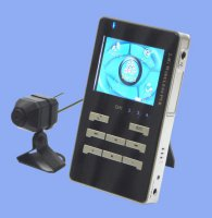 Sada bezdrátového videorekordéru (MP3/MPEG4) a bezdrátové kamery