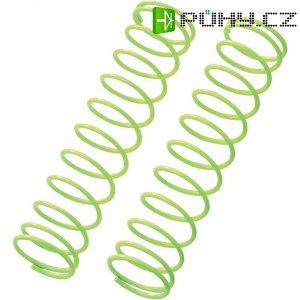 Pružina tlumiče Reely Medium, 72,5 x 1,2 mm, neon. žlutá, 1:10, 2 ks (VB11204Y)