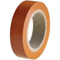 Izolační páska HellermannTyton HelaTapeFlex 15, 710-00110, 15 mm x 10 m, oranžová