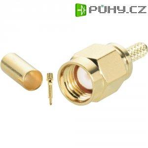 SMA konektor BKL 409076, 50 Ω, 5000 MOhm, zástrčka