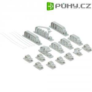 Systém pro organizaci kabelů, sada 18 ks