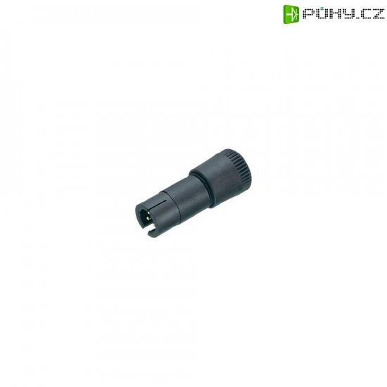 Subminiaturní kulatý konektor Binder 719 09-9767-70-04, 4pól., kabelová zástrčka, 0,25 mm², IP40 - Kliknutím na obrázek zavřete