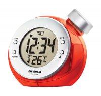 Digitální hodiny na vodní pohon Orava BD 502 červené