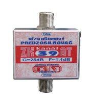 Anténní zesilovač ZK39AT 25dB F-F