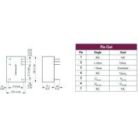 Síťový zdroj do DPS TracoPower TMLM 04253, 4 W, 5 V