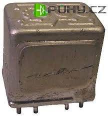 Relé 15N599xx 1A , cívka 27V, Mechanika Teplice