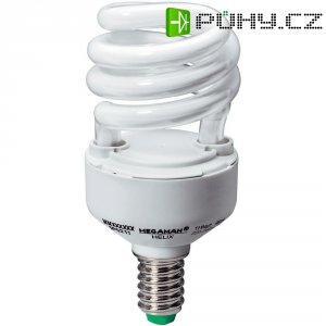 Úsporná žárovka spirálovitá Megaman Helix E14, 11 W, denní bílá