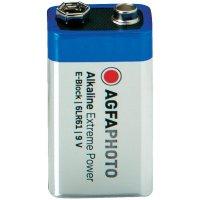 Alkalická baterie Agfaphoto, 9V