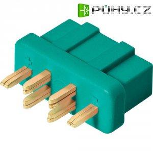 Konektor pro vysoký odběr Modelcraft, zásuvka, dvojkontakt, zelená