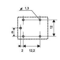 Miniaturní výkonové relé 833H 7 A, 1pinový přepínač, odolné vůči vodě Song Chuan 833H-1C-C 6, 7 A