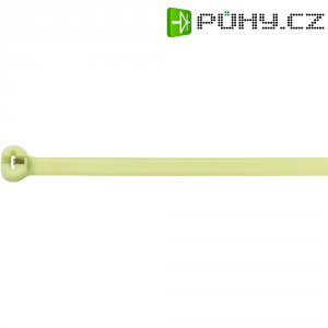 Tepelně stabilní stahovací pásek KSS CV-300HS (28530c302), 300 mm x 7,6 mm, zelená, 100 ks
